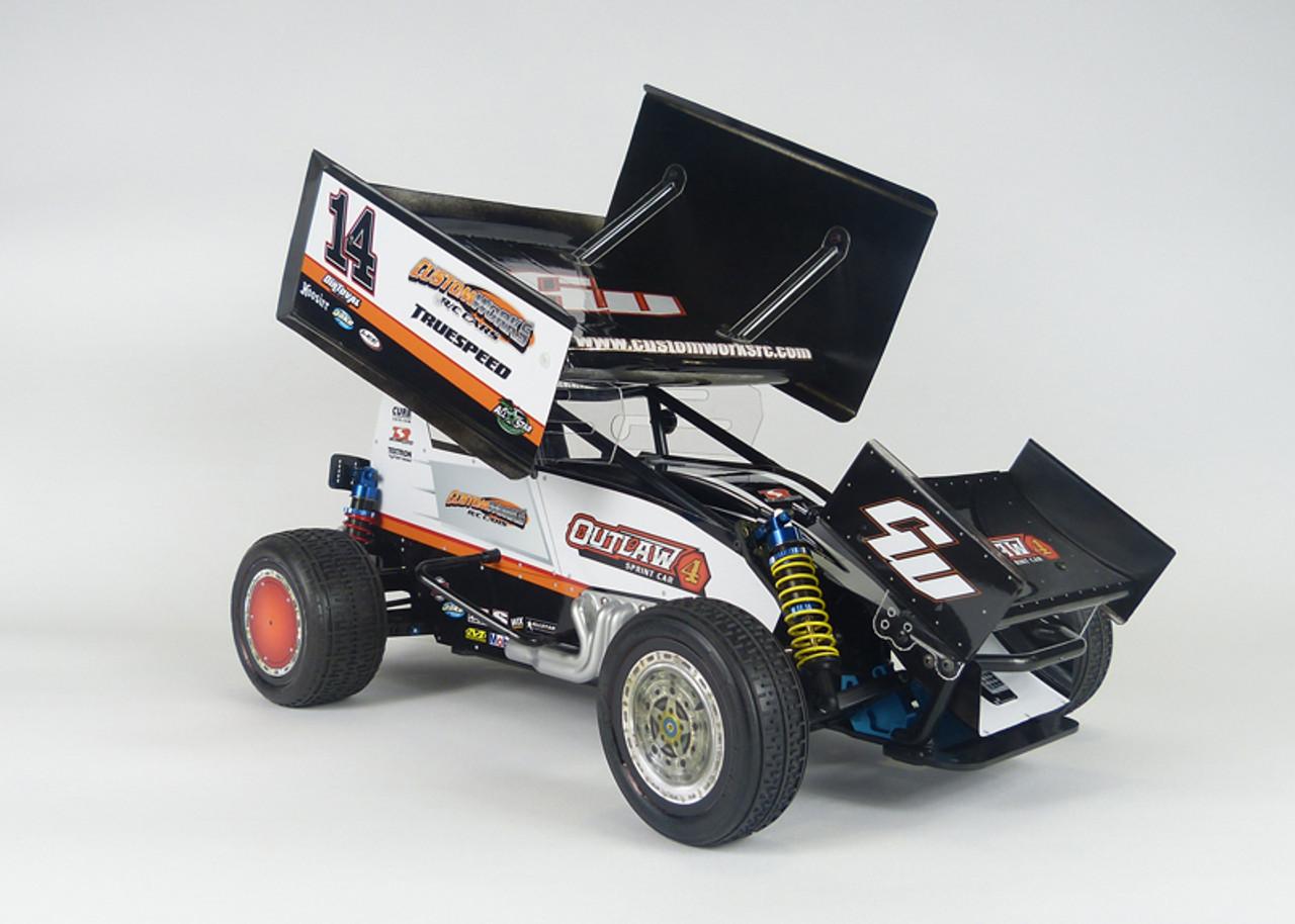 Custom Works Outlaw 4 Pro-Comp 1/10 Electric Dirt Oval Sprint Car