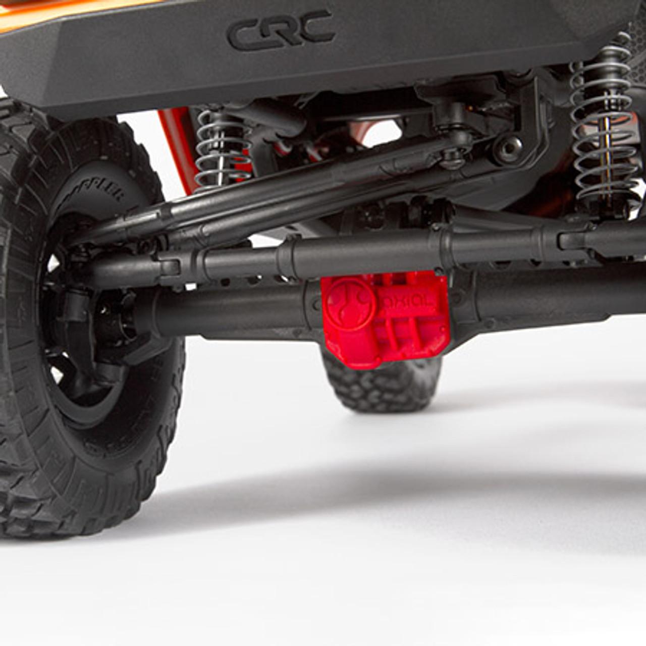 Axial Wraith 1/10 RTR Scale 1 9 Electric Rock Crawler (Orange)