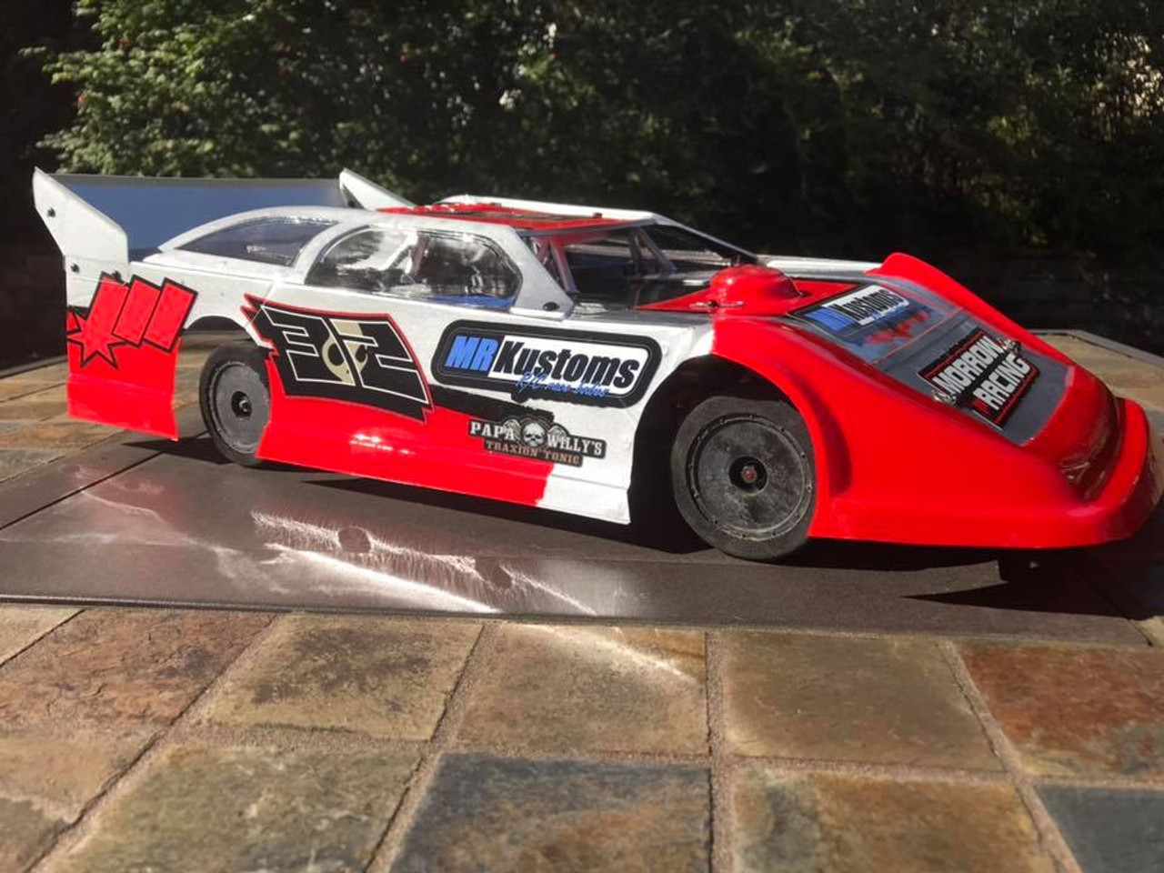 Proline Racing Nor/' Easter Clear Body For Dirt Oval Late Model