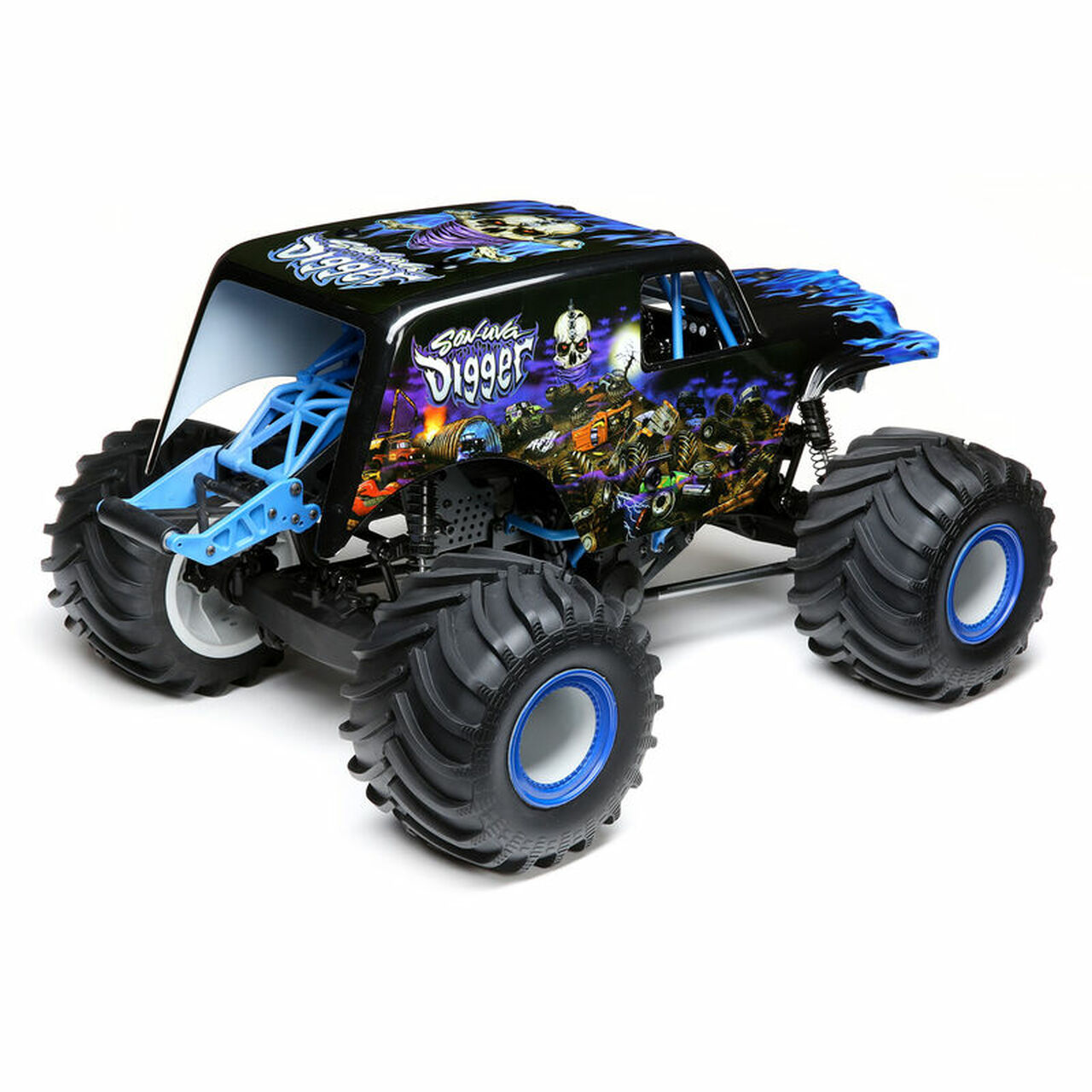 Losi Lmt 4wd Solid Axle Monster Truck Rtr Son Uva Digger Edition Beachrc Com