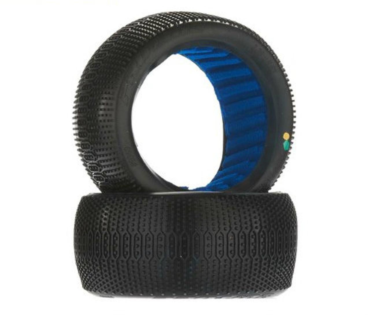 "2 - PRO Off-Road 1:8 Truck Tires w// Foam Soft Pro-Line Hole Shot VTR 4.0/"" X3"