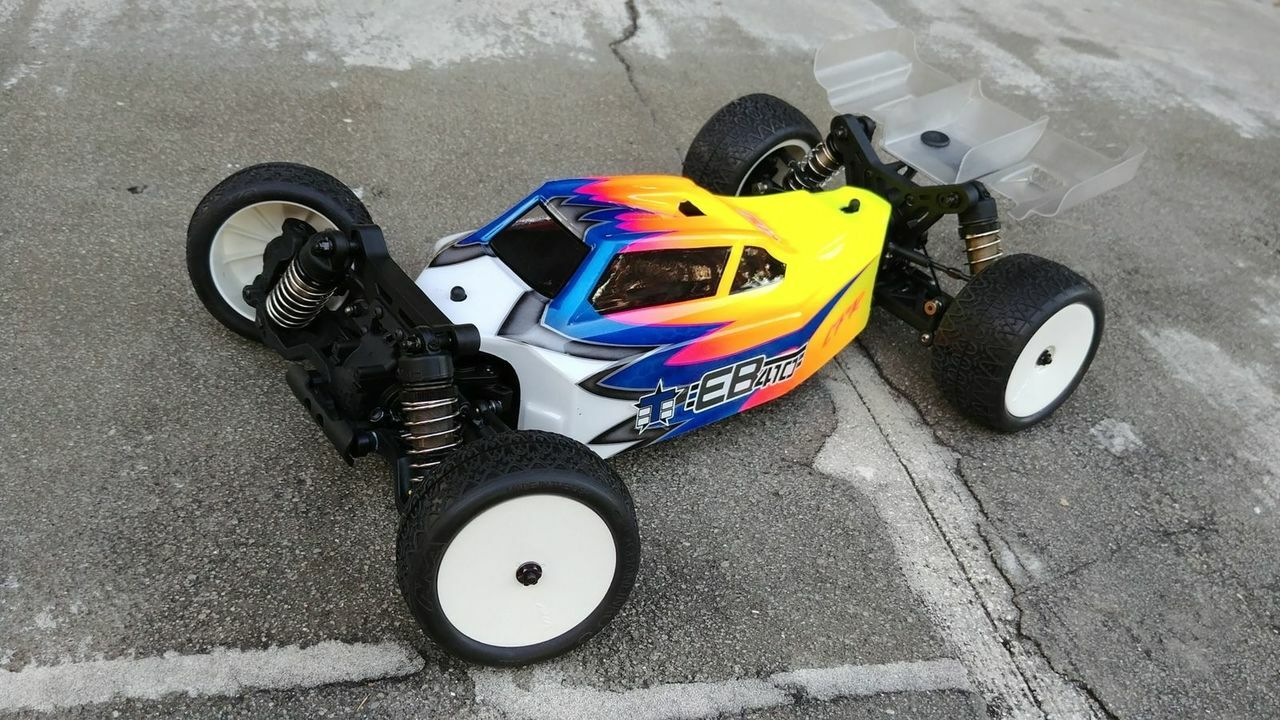 Leadfinger Racing A2 Tactic body for Tekno EB410 4WD Buggy