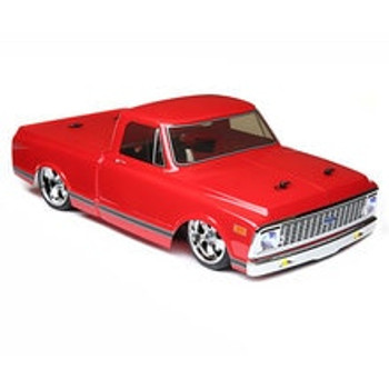 Vaterra 1972 Chevy C10 V100S RTR 1/10 4WD Electric Pickup Truck (Red)