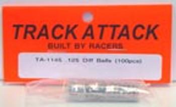 Track Attack .125 Diff Balls (100pcs)