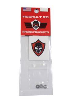 "Assault RC ""Revolver Series"" 2.5x6x3 Chrome Steel Thrust Bearing"