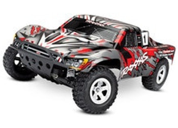 Traxxas slash 1/10 rtr electric two wheel drive short course truck with included TQ 2.4GHz Radio system