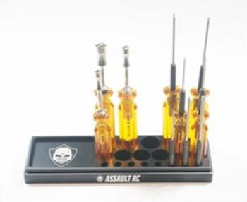 Assault RC Aluminum Tool Stand (Black) (ARC72001B)