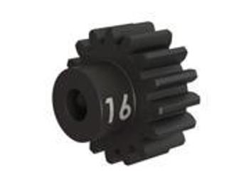 Traxxas Heavy Duty 16-T pinion (32-p) (machined, hardened steel) w/set screw (TRA3946X)