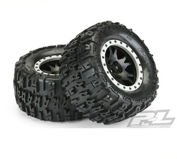 "Pro-Line Trencher 4.3"" X-MAXX MTD Impulse Black/Grey"