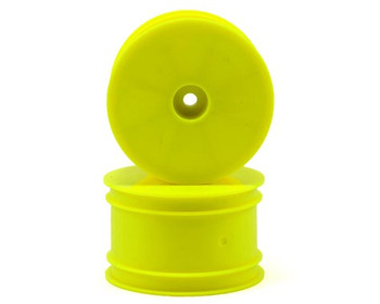 Serpent 12mm Hex 1/10 Rear Buggy Wheels (2) (SRX-2/SRX-4) (Yellow)