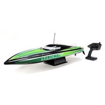 """Pro Boat Sonicwake 36"""" RTR Deep-V Brushless Boat (Black) w/Spektrum STX2 2.4GHz Radio (PRB08032T2)"""