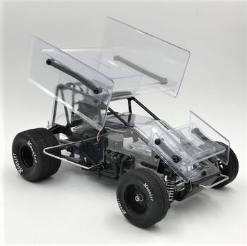 1RC Racing 1/18 Sprint Car RTR (Clear)