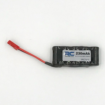 1RC NiMh Battery, 5 Cell NiMh (6v) 230mAH (Midget/Sprint)