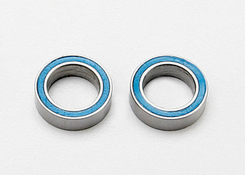 Traxxas Ball bearings, blue rubber sealed (8x12x3.5mm) (2) (TRA7020)