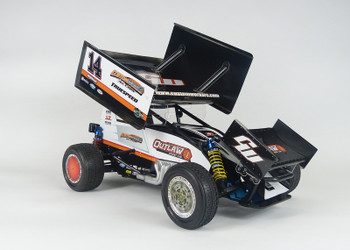 Custom Works Outlaw 4 Pro-Comp 1/10 Electric Dirt Oval Sprint Car Kit