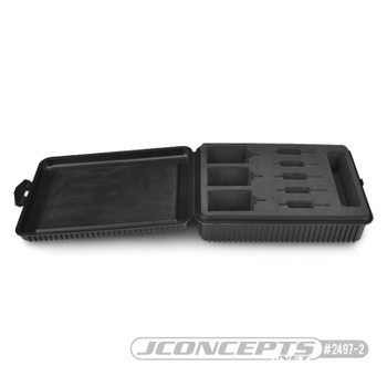 JConcepts 540 Motor Storage Case w/Foam Liner (Black)