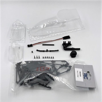1RC 1/18 Vintage Midget, Airbox Hood (DIY Kit) (Clear Body)