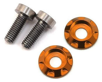 "17.5 RC 3x8mm Titanium ""High Load"" Motor Screws (Orange)"