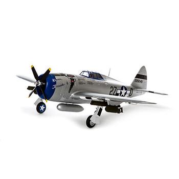 E-flite P-47D Razorback BNF Basic Electric Airplane (1200mm) w/AS3X & SAFE