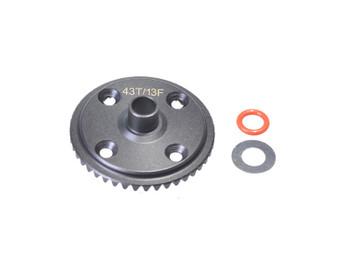 JQRacing 43/13 Front Crowngear (JQB0222)
