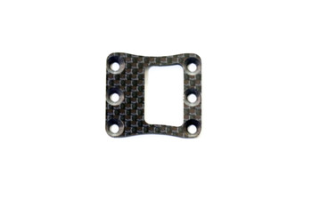 JQ Racing Carbon Fiber Radio Center Diff Mount Top Cover