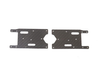 JQ Racing Carbon Fiber Rear Arm Stiffeners (JQB0327CF)