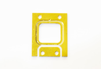JQ Racing 2mm Front Brass Gearbox Spacer (BE, WE) (JQB0405B)