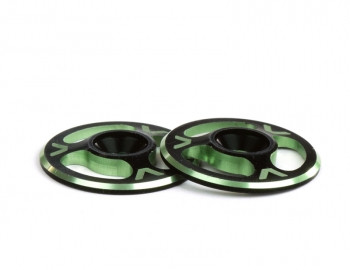 Triad Wing Buttons | Dual Black / Green (AV1060-DGRN)