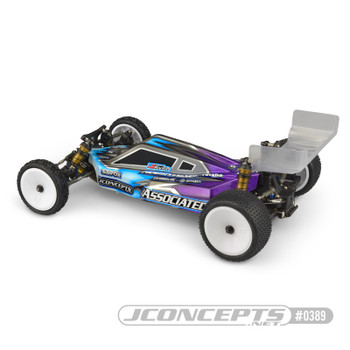 JConcepts Team Associated B6.1 P2K Body (Clear) (JCO0389) side view