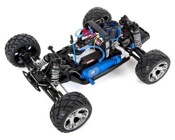 Traxxas Jato 3.3 2WD RTR Nitro Stadium Truck w/TQi (Yellow) 2.4GHz, Telemetry, TSM, Easy Start & Charger