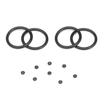 Tekno Emulsion O-Ring Set (4x cap seals, 8x emulsion screw o-rings, for TKR8702 shock caps) (TKR8725)