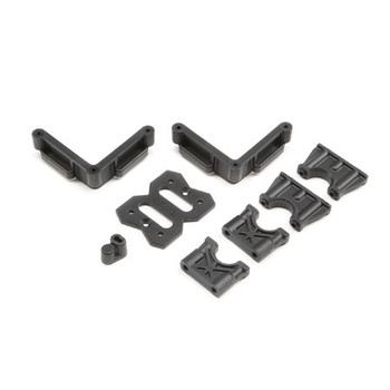 Team Losi Racing 8IGHT-XE Center Differential Mount & Battery Mount (TLR241060)