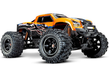 Traxxas X-Maxx 8S 4WD Brushless RTR Monster Truck (Orange) w/2.4GHz TQi Radio & TSM