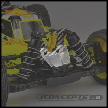 JConcepts JQ Racing Black and Grey Edition front scoop (2pc) (JCO0199)