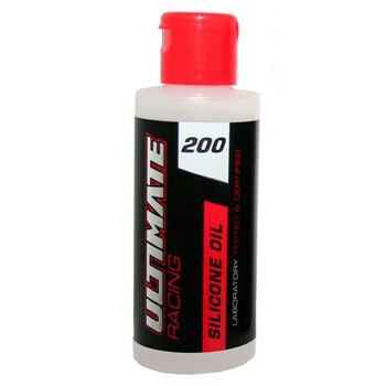 Ultimate Racing  Shock Oil 200 CPS (2OZ)
