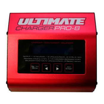 Ultimate Racing Pro 8 Battery Charger (UR4201)