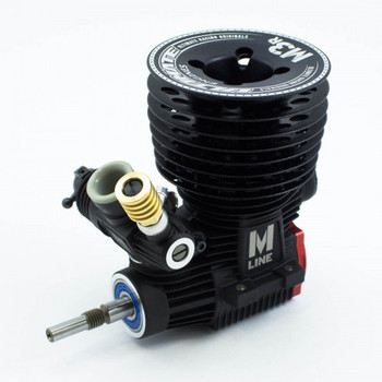 Ultimate Racing M-3R .21 Nitro Racing Engine & 2141-F Pipe Combo (UR3401-M3RP41)