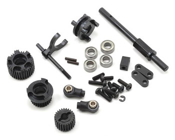 SSD RC SCX10 II 2-Speed Transmission Conversion Kit (SSD00131)