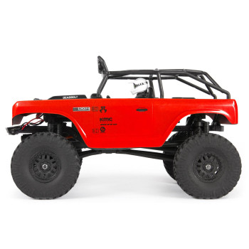 Axial 1/24 SCX24 Deadbolt RTR Scale Mini Crawler (Red) w/2.4GHz Radio