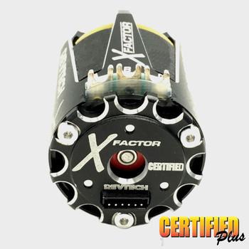 Trinity X-FACTOR 13.5T Spec Class Brushless Motor - Certified Plus (REV1101XO)