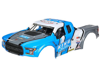 Losi King Shocks Ford Raptor Body Set: Baja Rey