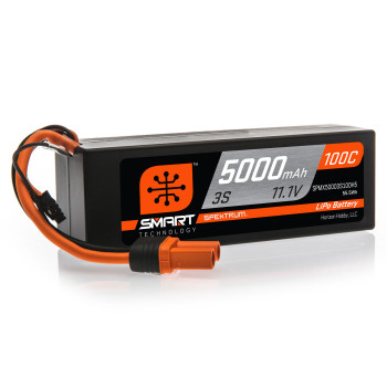 Spektrum 11.1V 5000mAh 3S 100C Smart LiPo (Hardcase) (IC5)