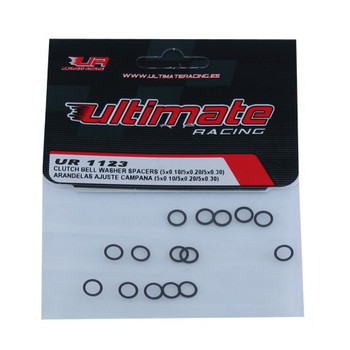 Ultimate Racing Clutch Bell Washer Shims (5X0.10/5X0.20/5X0.30) (UR1123)