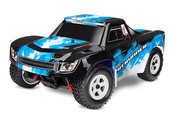 Traxxas LaTrax Desert Prerunner 1/18 4WD RTR Short Course Truck (Blue) w/2.4GHz Radio, Battery & AC Charger