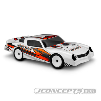 JConcepts 1978 Chevy Camaro Street Stock Dirt Oval Body (Clear)