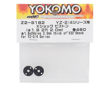 Yokomo X33 X Shock Piston Set (2) (2x1.8mm)