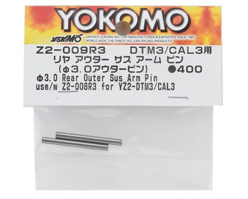 Yokomo YZ-2 DTM3/CAL3 Rear Outer Suspension Arm Pin (2)