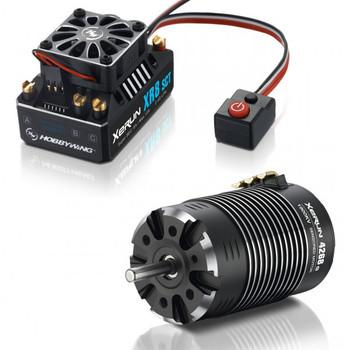 Hobbywing Xerun XR8 SCT ESC & 4268SD-1900KV Motor Combo (HWI38020415)