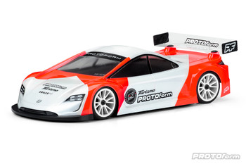 Protoform Turismo Touring Car Body (Clear) (190mm) (X-Lite) (PRM1570-20) front view
