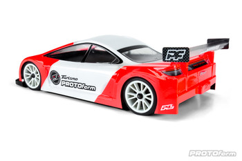 Protoform Turismo Touring Car Body (Clear) (190mm) (X-Lite) (PRM1570-20) side view